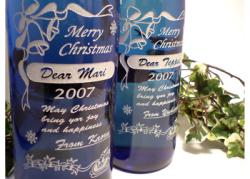 クリスマス ボトル